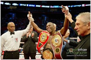 Haiti : Adonis Stevenson est le boxeur de l'année 2013