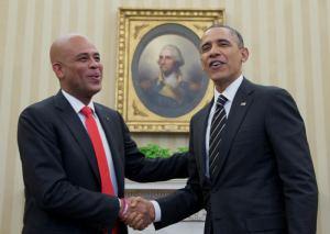 USA : Le président américain félicite son homologue haitien pour les efforts accomplis