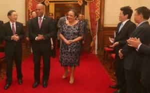 Taiwan : Le Président  Michel Martelly en visite officielle