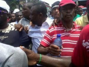 Manifestasyon anti Martelly  Mopod avèk Fopark òganize (PHOTO)
