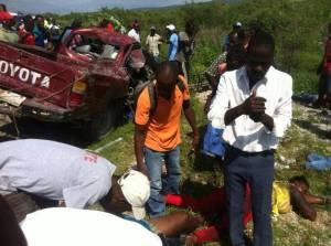 Haiti : Le Député de l'Estère impliqué dans un grave accident, 15 morts
