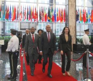 Haiti : Le Président Michel Martelly recevra un prix à New York