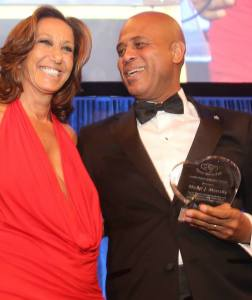 New York : Le Président Martelly a reçu le prix de leadership au gala de Happy Hearts Fundation