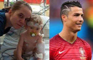 Zig Zag ki nan tèt  Ronaldo a pa yon stil men yon omaj  pou yon ti moun ki te fè operasyon nan tèt.