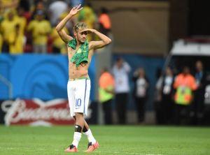 BREZIL 2014: Neymar placé sous investigation à cause de ses sous-vêtements