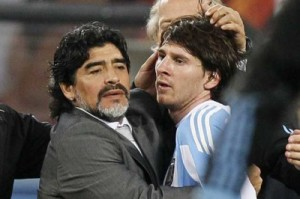Maradona fè konnen ke Messi pa merite tit meyè jwè mondyal lan.