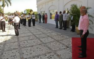 Haiti : Le Chef de l'Etat Michel Martelly rencontre l'ex-Président René Préval