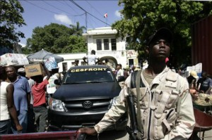 Rep. Dominicana: Un haitien tue un soldat dominicain à la frontière