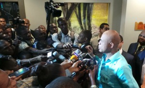 Haiti: Le Président Michel Martelly rencontre les extrémistes de l'opposition