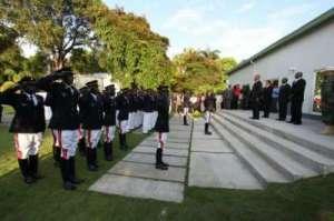 Haiti : Les premiers Officiers et Soldats de la nouvelle force de défense haitienne
