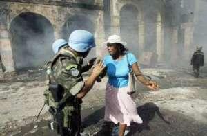 Haiti : Un soldat de la Minustah viole une jeune fille de 18 ans