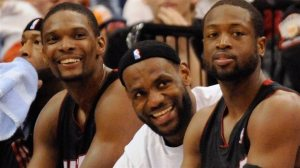 3 Jwè nan Miami Heat kraze kontra yo, Dwayne Wade se yonn nan yo
