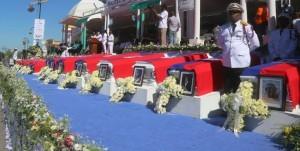 Haiti: Un groupe d'individus a tenté de troubler les funérailles officielles