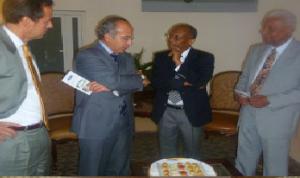 Haiti: L'ex Président Jean-Bertrand Aristide reçoit les membres du Club de Madrid