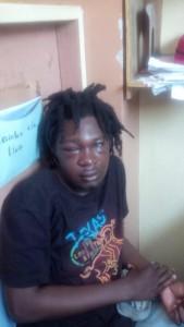 Etudiant Chelder Guilloux battu et maltraité lors de son arrestation