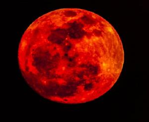 Prophétie de la Fin des Temps: La lune va virer au rouge selon la NASA