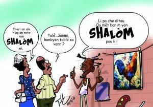 Haiti: «Shalom» et/ou «Chalòm»