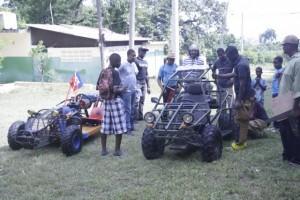 Haiti: Un atelier de fabrication de véhicules tout terrain à Bizoton