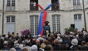 Monde: Inauguration de la statue de Toussaint-Louverture à La Rochelle