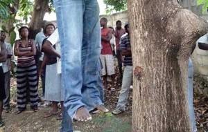 HAITI: Un jeune homme se suicide après une relation sexuelle avec une dame mariée