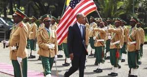 Monde: Barack Obama est le premier président américain à visiter l'Ethiopie
