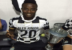 Un premier trophée pour l'international haïtien Alex Junior Christian au Portugal