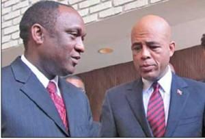 ''J'ai été conseiller du président Martelly mais, je n'ai jamais porté de bracelet rose'', Youri Latortue