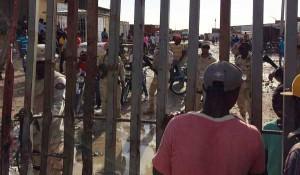 TENSION à la frontière: Un policier haïtien agressé