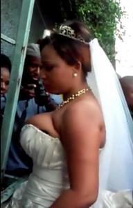 Un Haitien a abandonné la femme qu'il devrait epouser le jour de leur mariage devant l'église