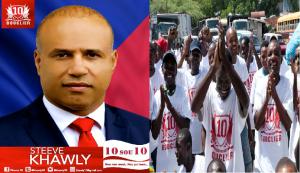 Haïti: Le candidat à la présidence de Bouclier, Steeve Khawly, se dit confiant