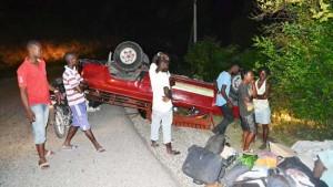 SUD-EST: une camionnette renversée sur la route de l'amitié cause la mort de 2 personnes