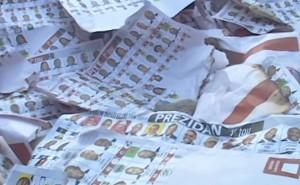 Haiti Élections: Des bulletins de vote calcinés découverts par des partisans de Moïse Jean-Charles [VIDEO]