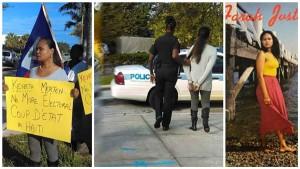 Monde: Protestation contre Jovenel Moise à Miami, la chanteuse Farah Juste arrêtée