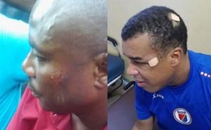 Moise Jean-Charles et Steven Benoît ont été frappés par des balles en caoutchouc lors d'une manif