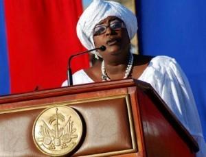Haiti: Euvonie Georges Auguste « Je ne suis pas membre de Renmen Ayiti »