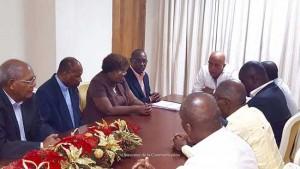 La Commission d'Evaluation Electorale Indépendante a soumis son rapport au Président de la République