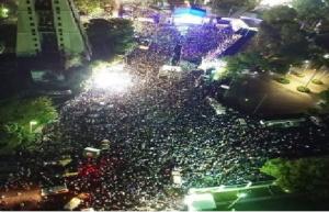 Haiti: Des milliers de fans au Champs de Mars pour le concert de Lil Wayne et Chris brown