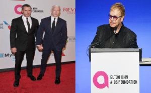 Monde: Anderson Cooper et son partenaire Ben Maisani main dans la main