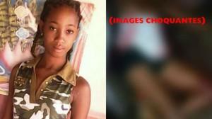 HAITI: Une adolescente de 15 ans a été assassinée par un amant très jaloux.  ( IMAGES CHOQUANTES )